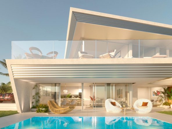 Modern architecture with panoramic sea views - Costa del Sol