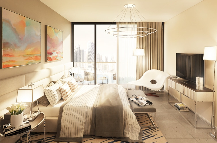 A lively community in the heart of Dubai, in a tower designed to impress, with elegantly finished interiors in a mix of studios and one and two bedroom apartments, along with world-class amenities inVera Residences tower.